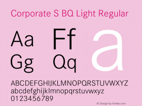 Corporate S BQ Light