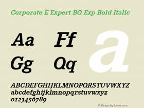 Corporate E Expert BQ Exp