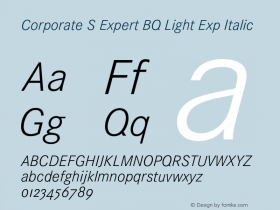 Corporate S Expert BQ Light Exp