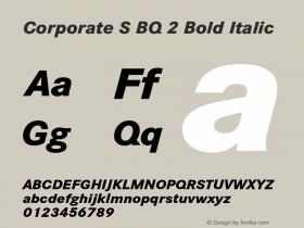 Corporate S BQ 2