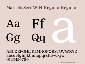 MarselisSerif-Regular
