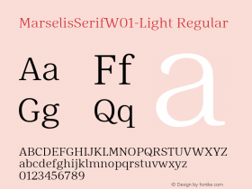 MarselisSerif-Light
