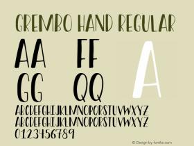 Grembo Hand