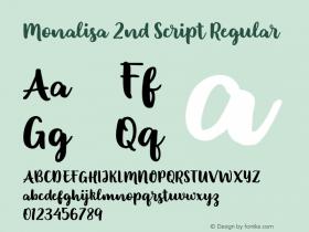 Monalisa 2nd Script