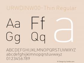 URWDIN-Thin