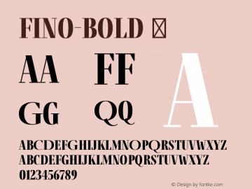 Fino-Bold