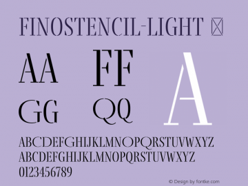 FinoStencil-Light
