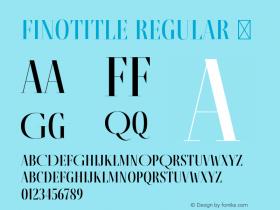 FinoTitle-Regular