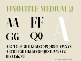 FinoTitle-Medium