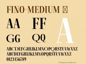 Fino-Medium