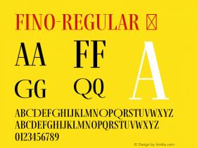 Fino-Regular