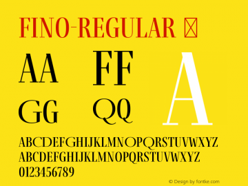 Fino-Regular