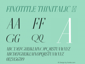 FinoTitle-ThinItalic