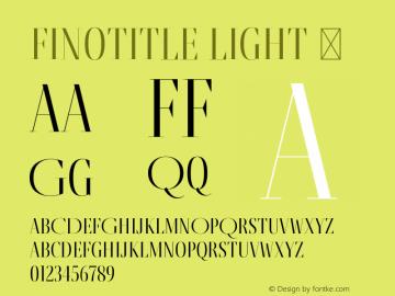 FinoTitle-Light