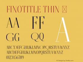FinoTitle-Thin