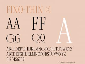 Fino-Thin