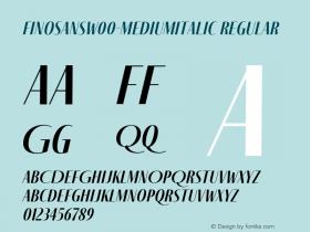 FinoSans-MediumItalic