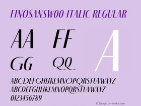 FinoSans-Italic