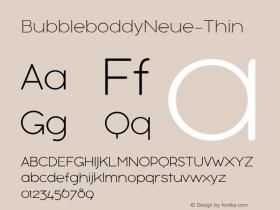 BubbleboddyNeue-Thin