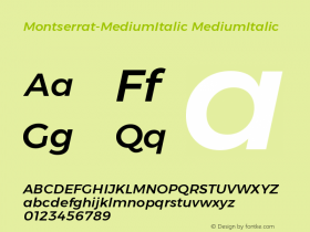 Montserrat-MediumItalic
