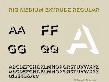 Rig Medium Extrude