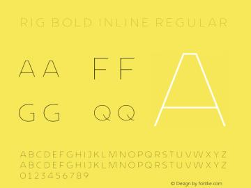 Rig Bold Inline