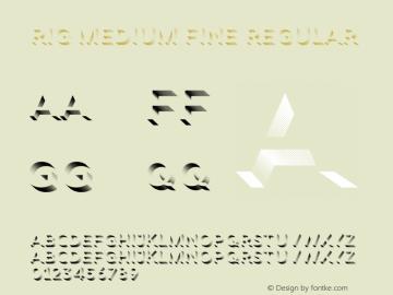 Rig Medium Fine