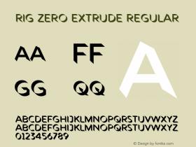 Rig Zero Extrude
