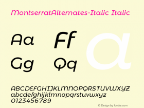 MontserratAlternates-Italic