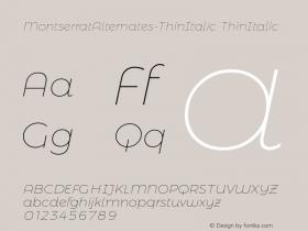 MontserratAlternates-ThinItalic