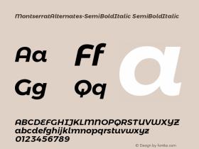 MontserratAlternates-SemiBoldItalic