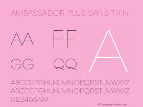 Ambassador Plus Sans