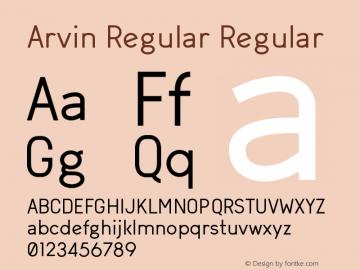 Arvin Regular