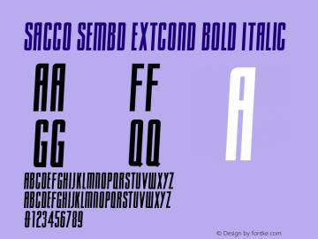 Sacco SemBd ExtCond
