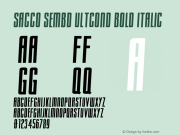 Sacco SemBd UltCond