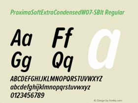 ProximaSoftExtraCondensed-SBIt