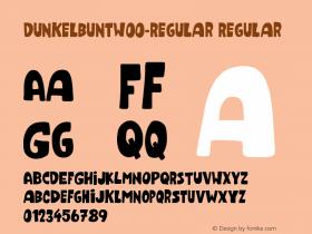 Dunkelbunt-Regular