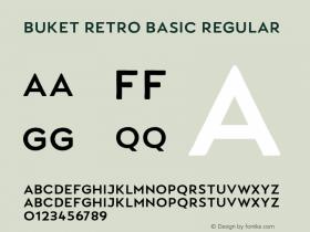 Buket Retro Basic