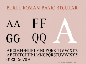 Buket Roman Basic