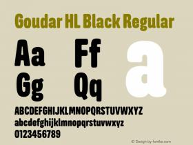 Goudar HL Black