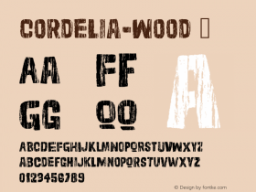 Cordelia-Wood