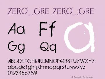 ZERO_CRE