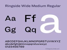Ringside Wide Medium