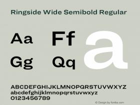 Ringside Wide Semibold