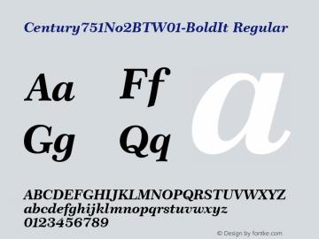 Century751No2BT-BoldIt