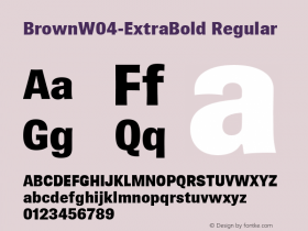 Brown-ExtraBold
