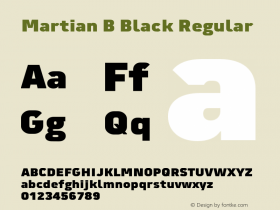 Martian B Black