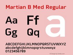 Martian B Med