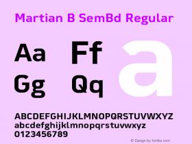 Martian B SemBd