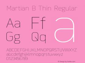 Martian B Thin